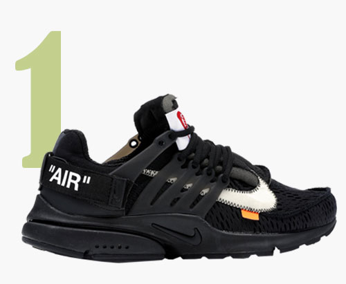 Off-White x Nike Die 10: Air Presto Sneaker
