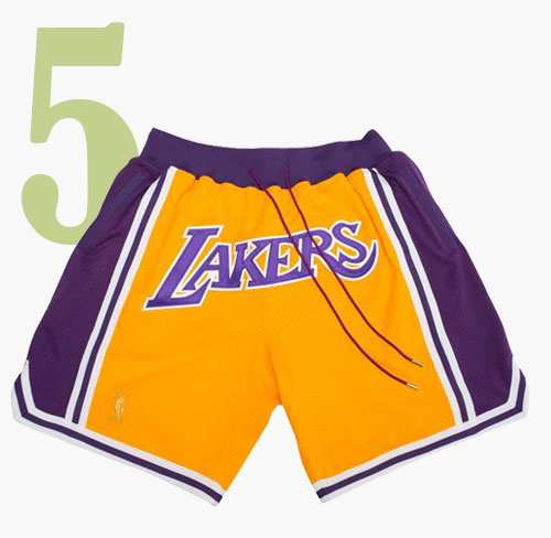 Just Don Lakers Shorts