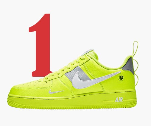 Nike Air Force 1 '07 LV8 Utility Volt sneakers
