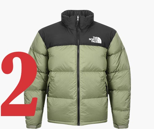 Nuptse jack van The North Face