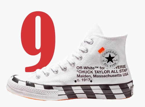 Converse x Off-White Chuck 70 hi-top sneakers